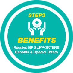 STEP2 REFER Refer your new customer/s to purchase a vehicle from BE FORWARD.