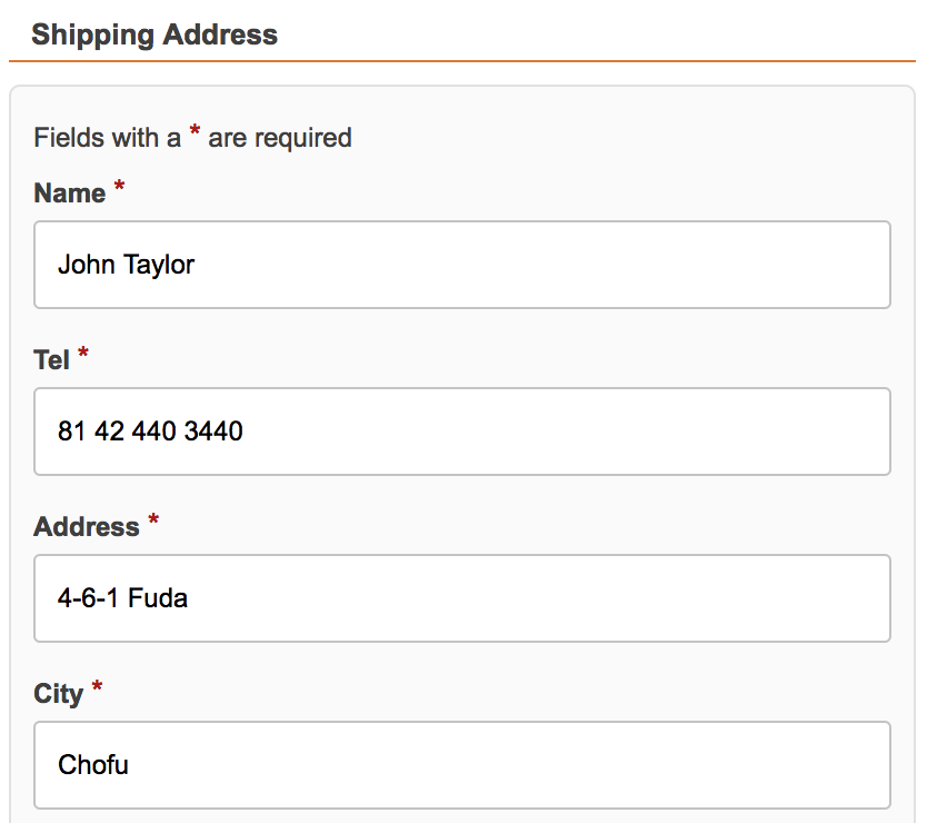 When Logged in - Your Information will be automatically filled in, Just press the button!